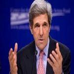 كيرى: مخاطر عدم التحرك ضد سورية تفوق مخاطر التحرك .. والنظام لن يسلم اسلحته الكيماوية
