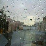هطول أمطار متوسطة على مدينة عرعر