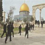عشرات المتطرفين اليهود يقتحمون باحات المسجد الأقصى