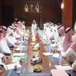 أمين الباحة يترأئس الإجتماع الدوري لمدراء بلديات المحافظات
