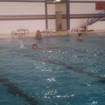 التدريب على الغوص والسباحة لمنسوبي مدني الشمالية