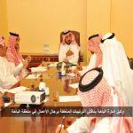 وكيل إمارة الباحة يناقش الترتيبات المتعلقة برجال الأعمال في منطقة الباحة