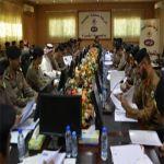 مديرشرطة القصيم يجتمع بمدراء الشرط والمراكز والمخافر في المنطقة