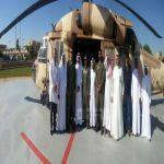 هبوط تجريبي لطائرة اخلاء طبي للقوات المسلحة بمستشفى الخميس العام