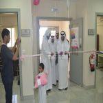 الكشف على 350 سيدة في أول ايام حملة سرطان الثدي ببللحمر