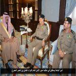 أمير الباحة يستقبل في مكتبه مدير الأمن الام اللواء عثمان بن ناصر المحرج