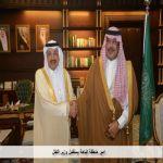 امير منطقة الباحة يستقبل وزير النقل