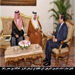 تفعيل مبادرة خادم الحرمين الشريفين التي اطلقها في الرياض لتعزيز  العلاقات بين مصر وقطر
