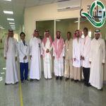 فريق القيادة والتحكم بصحة عسير يزور مستشفى بللسمر والمراكزالصحية