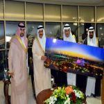أمير الرياض يفتتح منتزه الملك عبدالله بحي الملز