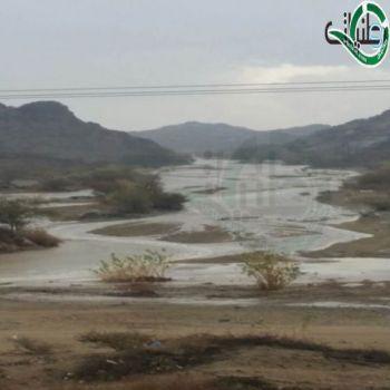 صور- لهطول الأمطار على محافظات ومراكز عسير والتي هطلت يوم أمس
