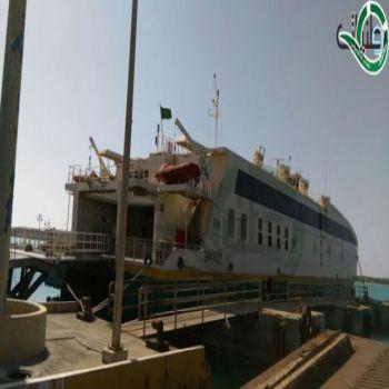 تأخر عبارة فرسان جازان 7 ساعات في ميناء فرسان وسط تذمر المسافرين