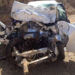 لقى 4 أشخاص من عائلة واحدة مصرعهم وأصيب آخر، إثر حادث تصادم وقع بين سيارتين