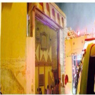 هلال الباحة حريق سورمنزل بمحافظة المندق يُخلف اختناق رجل إطفاء وطفلة وشاب