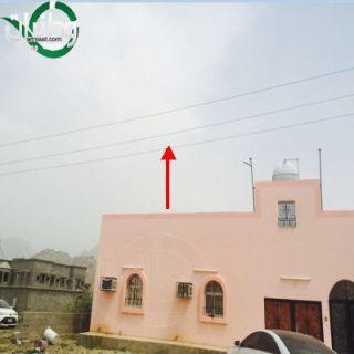 في بارق : مواطن طلب انقاذه من الضغط العالي فطالبوه بهدم سور منزله