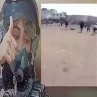 """شاهد فرار المليشات الحوثية وهم يرددون """"مريم ردت""""(فيديو)"""