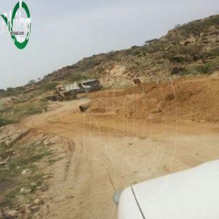 """بلدية بارق تتجاوب مع مانشرته """"وطنيات"""" تحت عنوان توقف مشروع عبارات ببارق"""