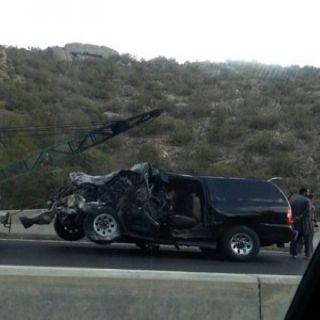 وفاة وسبع اصابات بحادث مروري على طريق النماص