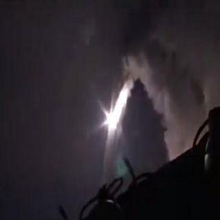 مسؤولون أمريكيون لـCNN يؤكدون سقوط 4صواريخ على إيران متجهة من بحرقزوين لسوريا