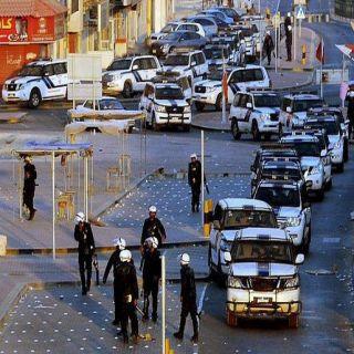 """البحرين : إصابة رجلين أمن بإصابات بسيطة في إنفجار """"الجفر""""بالبحرين"""