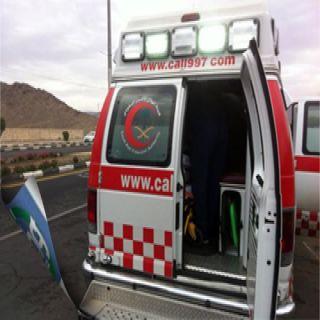 هلال تبوك يُباشر (6) حوادث مختلفة أحدهما حادث دهس بحي الروضة
