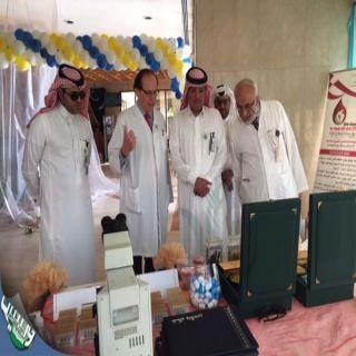 افتتاح فعاليات الاسبوع #العالمي #لمكافحة العدوى بمستشفى الملك عبدالله ببيشة