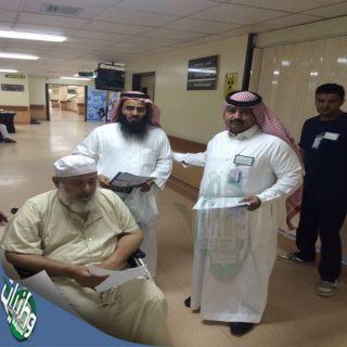 مستشفى #المجاردة يُعد ركن مجهز بإجهزة الكشف عن مرض السكر