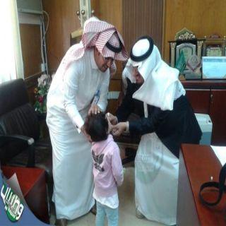 محافظ #طريب يدشن الجرعة الاولى لحملة التطعيم ضد شلل الاطفال