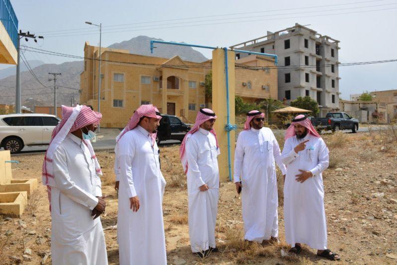 رئيس البلدية في زيارة ميدانية لمركز ختبة