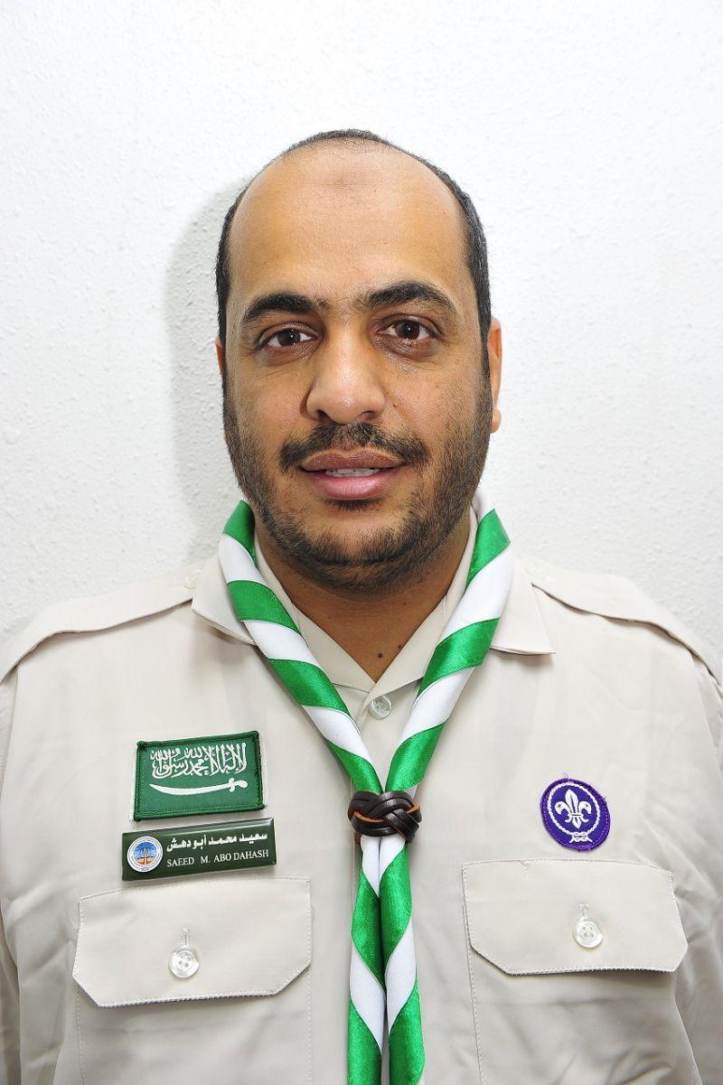 نائب رئيس الجمعية سعيد محمد ابو دهش